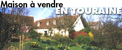 House for sale in Touraine - Loire valley